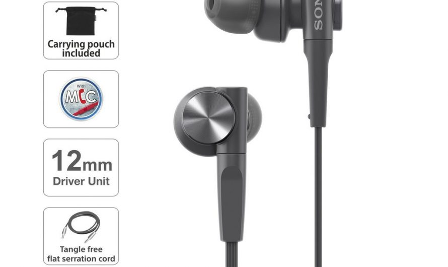EXTRA BASS™ MDR-XB55AP