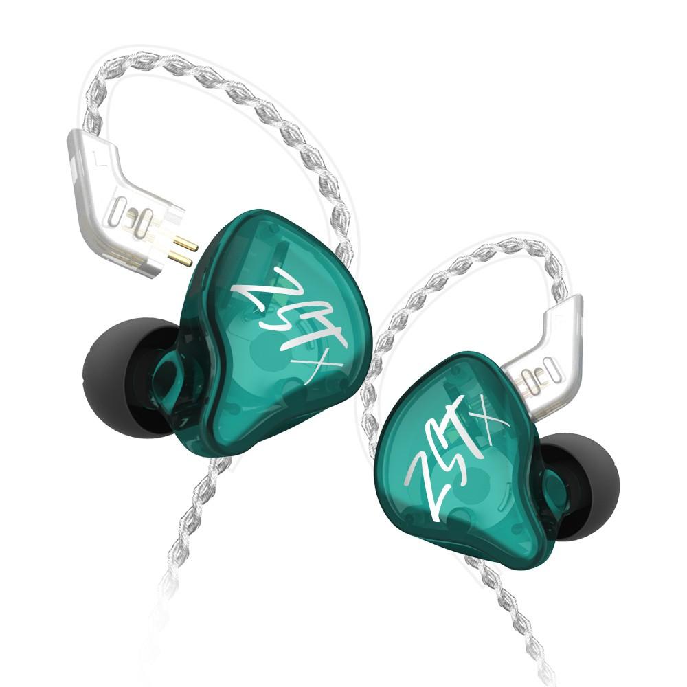 KZ ZST X หูฟัง 2 ไดร์เวอร์ 1DD+1BA